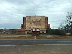 Abandoned Redland Drive In Movie Theater in Redland, Texas