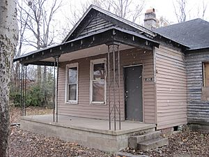 Aretha Franklin birthplace 406 Lucy Ave Memphis TN 06