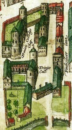 Cambridge 1575 colour Trinity College