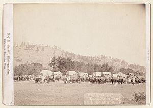Grabill - Freighting in the Black Hills-2