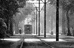 Snow in New Orleans by evreniz
