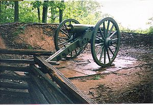 Kennesaw mountain cannon01