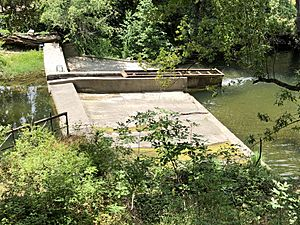 Lagunitas Diversion Dam and Fish Ladder 26 May 2018