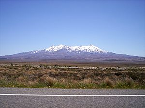 Mount Ruapehu January2005