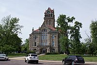 Starke County Courthouse in Knox