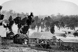 StateLibQld 1 159247 Floods in the Gympie area in 1870