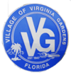 Official seal of Virginia Gardens, Florida