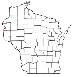 Location of Dresser, Wisconsin