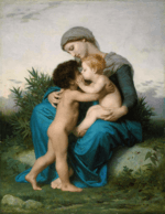 William-Adolphe Bouguereau (1825-1905) - Fraternal Love (1851)