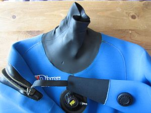 Diving suit neoprene