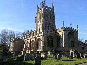 Fairford church - geograph.org.uk - 682743
