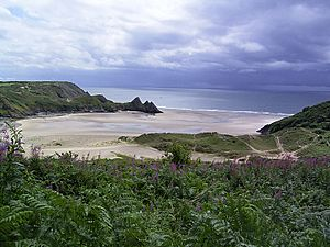 Three cliffs bay gower rb 200507