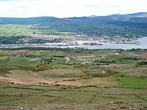 Warrenpoint from the Clermont Pass Road