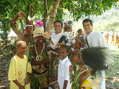 IVE Missionaries in Papua New Guinea