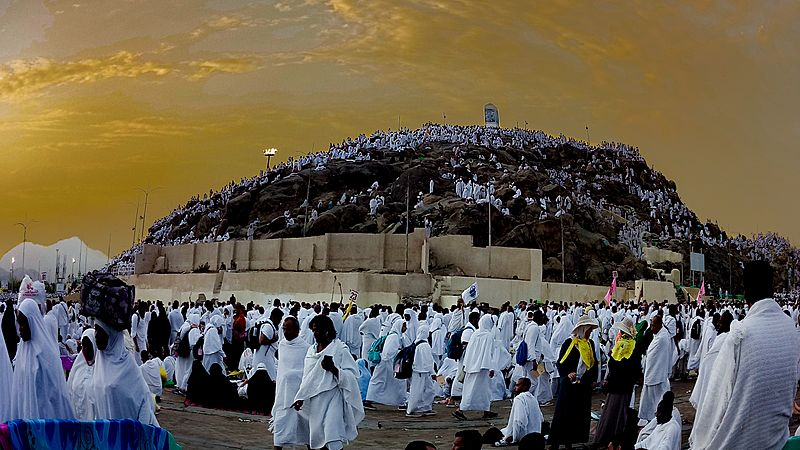 Jabal-e-Rehmat (Mount of Mercy Mount Arafat)