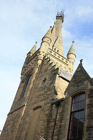 The tower of the Duncan Institute, Cupar
