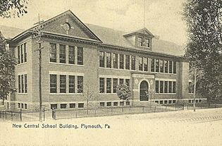 Central High School, Plymouth PA, of 1906
