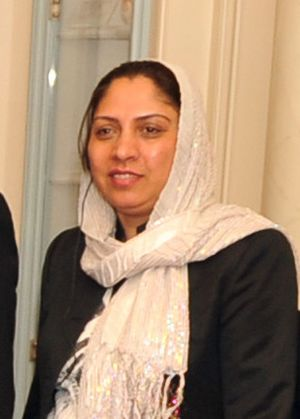 Col. Shafiqa Quraishi of Aghanistan