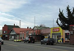 Main Street in Downtown