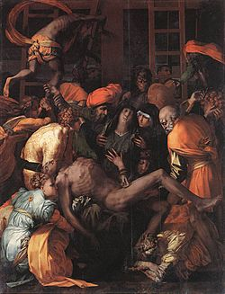 Rosso Fiorentino - Deposition from the Cross - WGA20130