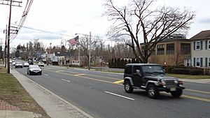 Shrewsbury NJ Route 35 streetview