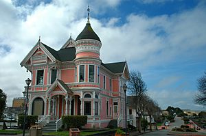 The Pink Lady in Eureka
