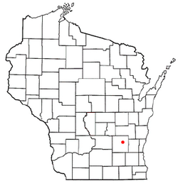 Location of Horicon, Wisconsin