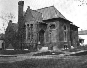 1899 Brookfield public library Massachusetts