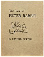 1901 First Edition of Peter Rabbit