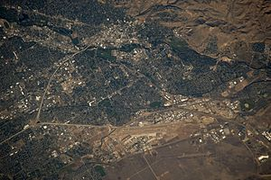Boise Idaho from space