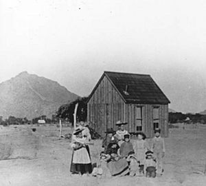 First Schoolhouse 1896