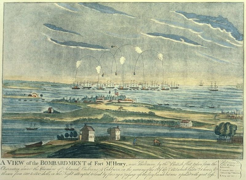 Ft. Henry bombardement 1814