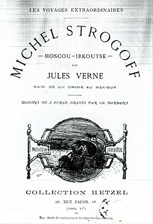 Jules Verne Michel Strogoff 1876 cover