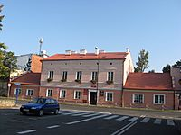 Konin - former hospital building