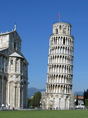 Leaning tower of pisa 2