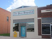 Post Dispatch newspaper, Post, TX IMG 4610