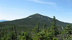 Whiteface Mountain as seen from the Esther Mountain