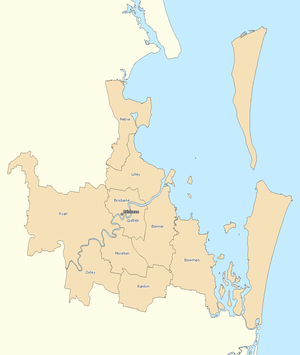 Brisbane divisions overview 2010
