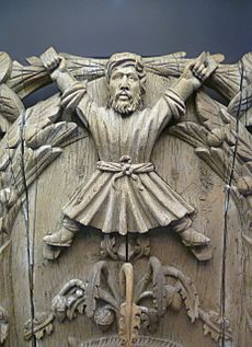 Carving of Saint Andrew