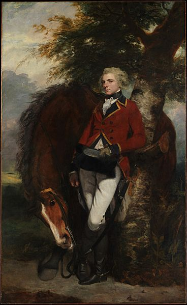 Colonel George K. H. Coussmaker, Grenadier Guards by Joshua Reynolds 1782