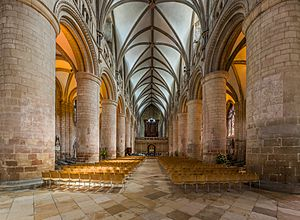 Gloucester Cathedral Nave, Gloucestershire, UK - Diliff