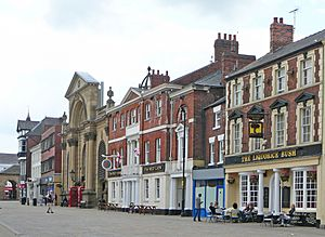 Market Place, Pontefract (May 2010) geograph