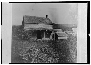 OLDEST HOUSE IN CATSKILLS - KNOWN AS 'RIP VAN WRINKLE HOUSE' DATE - 1787. - Rip Van Winkle House, Palenville, Greene County, NY HABS NY,20- ,1-1