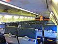 Southwest Airlines aircraft empty interior