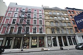 Cast Iron Buildings - SoHo Historic District