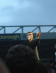 George Michael Carrow Road cropped