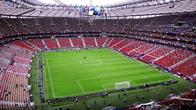 Warsaw National Stadium before Germany - Italy (6)