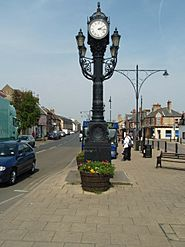 Clock On The Great Whyte - geograph.org.uk - 773912