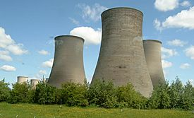 Didcot power station cooling tower zootalures