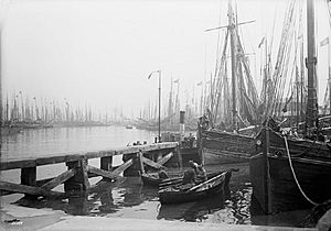 Fish Dock, Grimsby, Lincolnshire